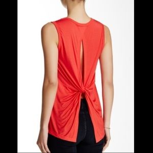 Lush Twist Back Muscle Tee